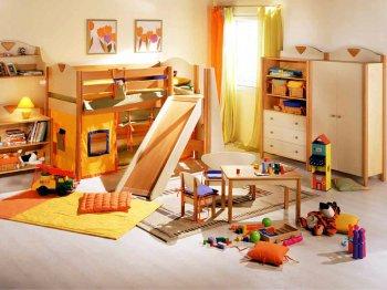 Благоустройство детской комнаты