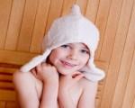 Ребенок и банные процедуры