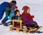 Прогулка: снежные забавы