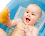 Советы для первого купания малыша