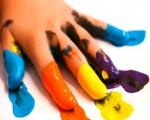 Учимся рисовать - домашние краски