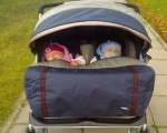 Прогулки с новорожденным малышом